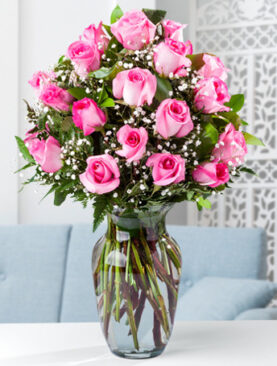 Beautiful Two Dozen Pink Roses