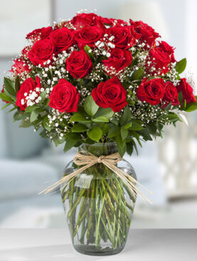 Beautiful Three Dozen Bouquet of Red Roses