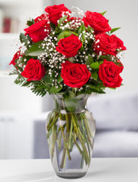Beautiful Two Dozen Red Roses