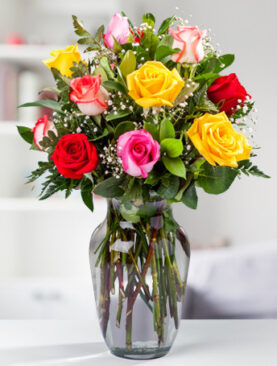 Beautiful Dozen Mixed Roses